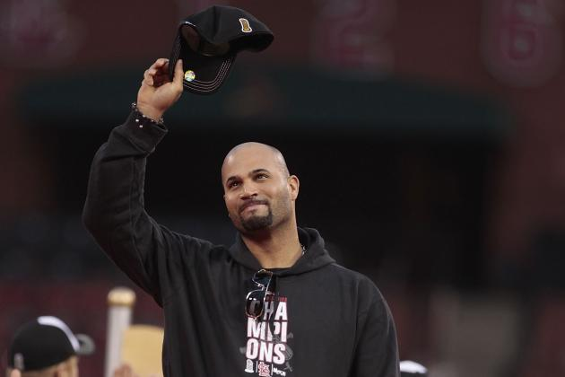 Pujols Continues to Bring Smiles in St. Louis
