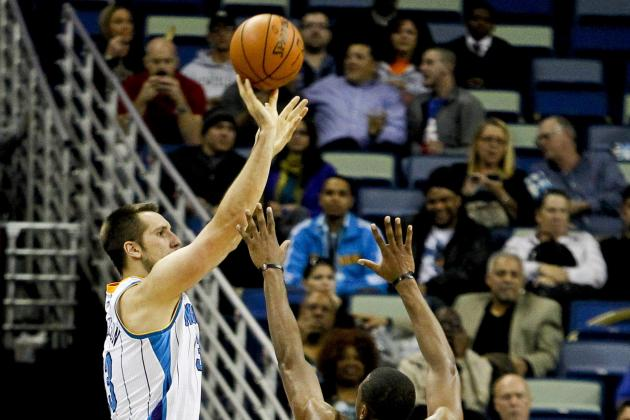New Orleans Hornets Forward Ryan Anderson Emerging as a Scorer and Rebounder