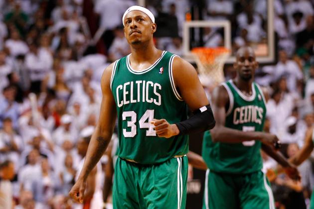 Why Boston Celtics' Paul Pierce and Kevin Garnett's Championship Days Are Over