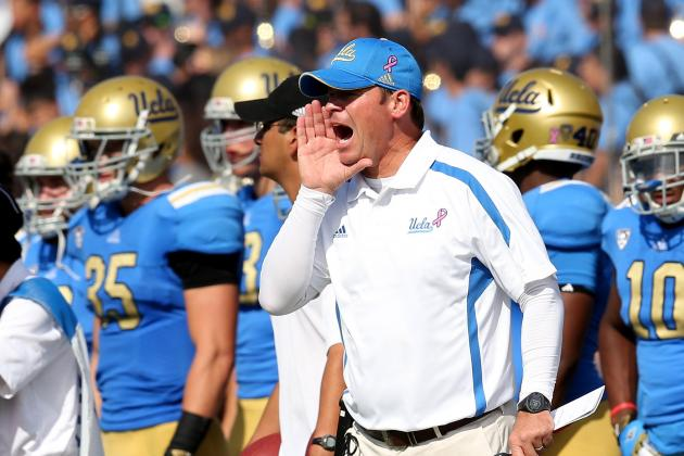 UCLA Players Try to Downplay Matchup with USC
