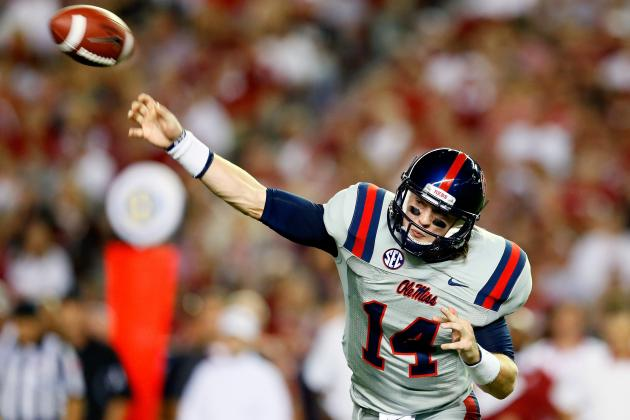 Ole Miss QB Wallace Focuses on the Mis-Steps