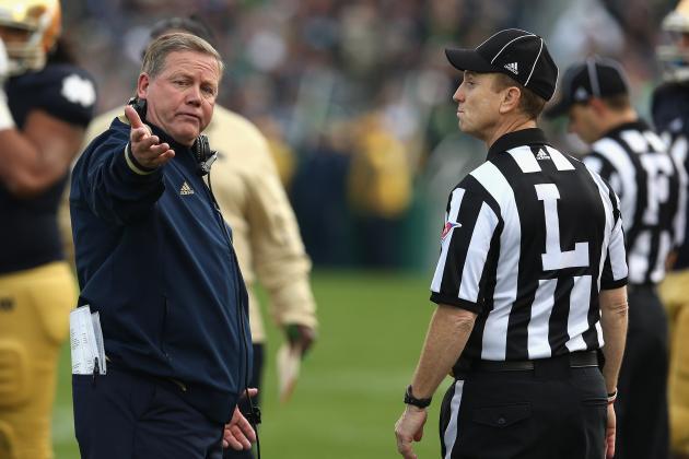 Notre Dame Football: Irish Deserve Closer Look for BCS Title Game