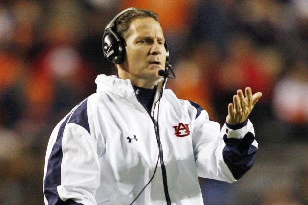 Gene Chizik Buyout Could Cost Auburn Up to $7.7 Million