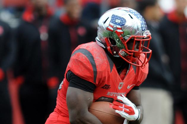 Rutgers' Jawan Jamison and Andre Civil Don't Practice, Remain `50-50'