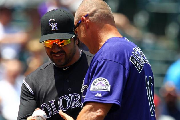 Bichette Hired as Rockies Hitting Coach