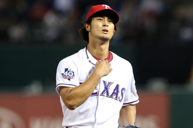 Yu Darvish Third in AL Rookie Voting