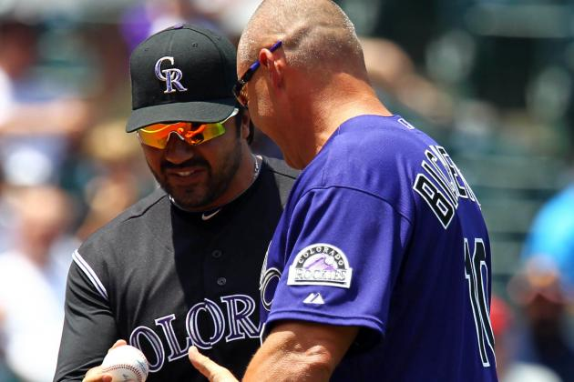 Dante Bichette Named New Rockies Hitting Instructor