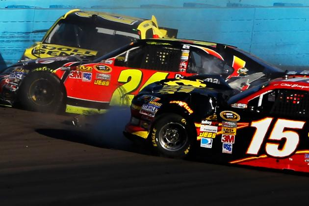 NASCAR Fines, but Doesn't Suspend Jeff Gordon for Phoenix Crash