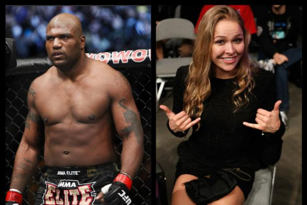 Chael Sonnen: Rampage Can't Beat Ronda Rousey