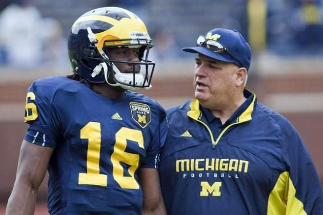 Wolverines' Al Borges: It's 'Worth Listening To' Denard Robinson's Suggestions