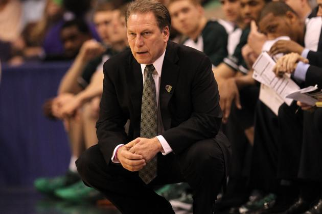 Michigan State Coach Tom Izzo Not About to Hit Panic Button