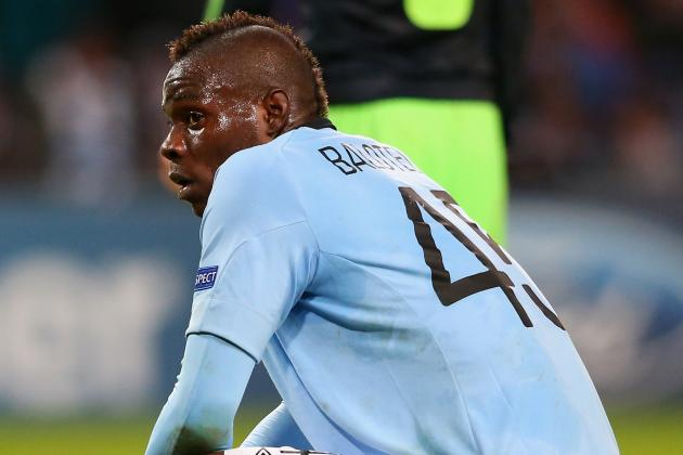 Mario Balotelli Set to Stay at Manchester City Despite AC Milan Interest