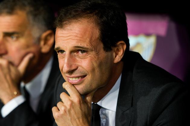 AC Milan Continue Support for Massimiliano Allegri