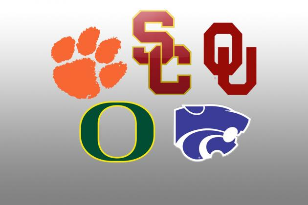 College Football Rankings 2012: Teams Most Likely to Fall After Week 12