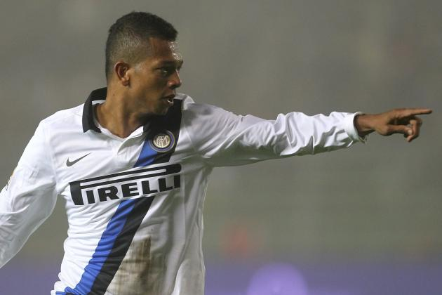 Inter's Guarin out Three Weeks