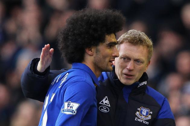 David Moyes Anticipates Bids for Marouane Fellaini