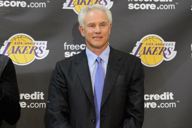 Lakers GM Kupchak Says Team Wanted D'Antoni, Didn't Think Jackson Would Want Job