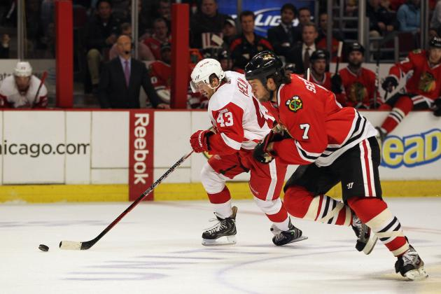 Detroit Red Wings: Darren Helm Hopes to Exceed Expectations