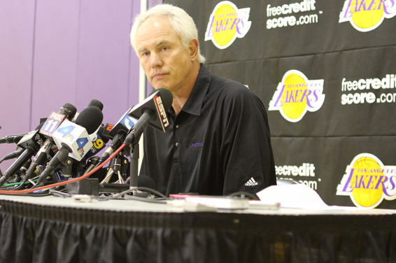 Kupchak Addresses Coaching Decision