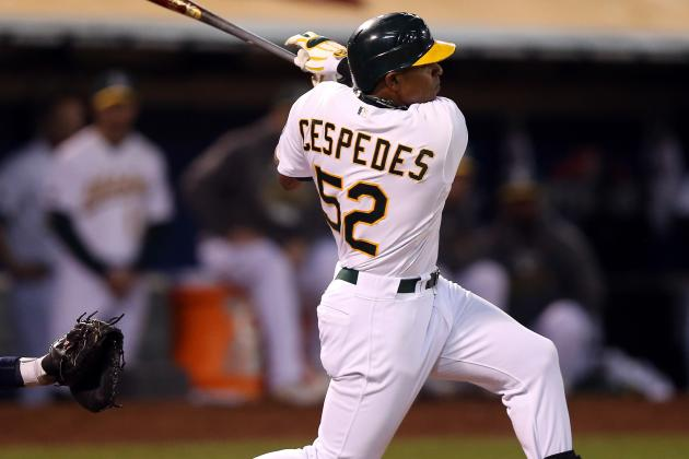 A's Cespedes Finishes Second to Trout for AL Rookie of the Year