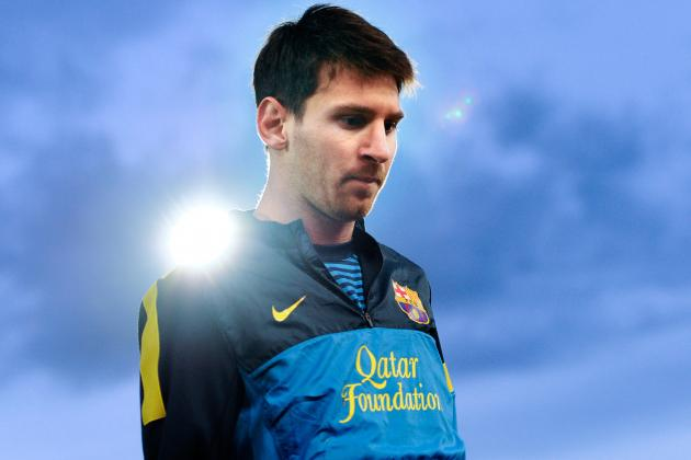 Barcelona's Lionel Messi Delighted by La Liga Honour