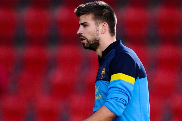 Barcelona's Gerard Pique Delighted to Be Back