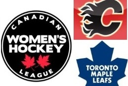 Maple Leafs and Flames to Assist CWHL's Toronto and Alberta Franchises