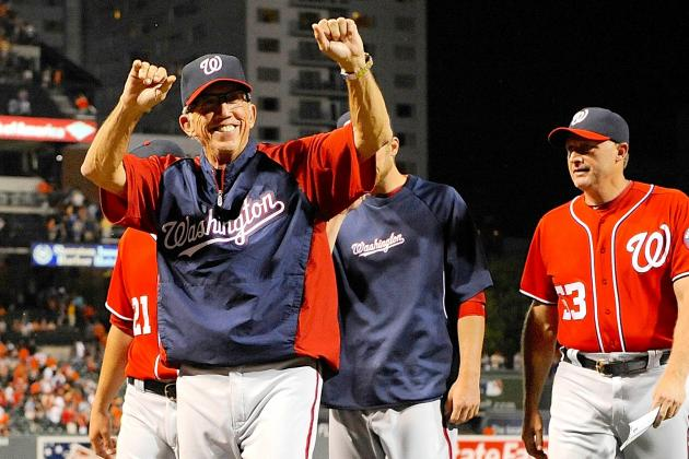 Davey Johnson Wins National League Manager of the Year Award