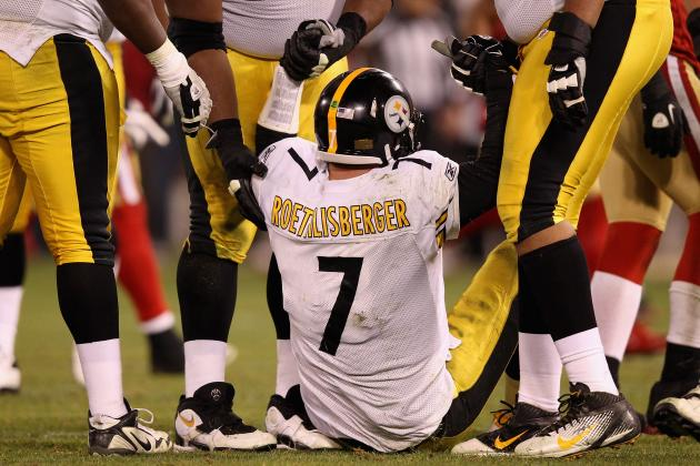 Odds Steelers Can Reach the Playoffs with Ben Roethlisberger Banged Up