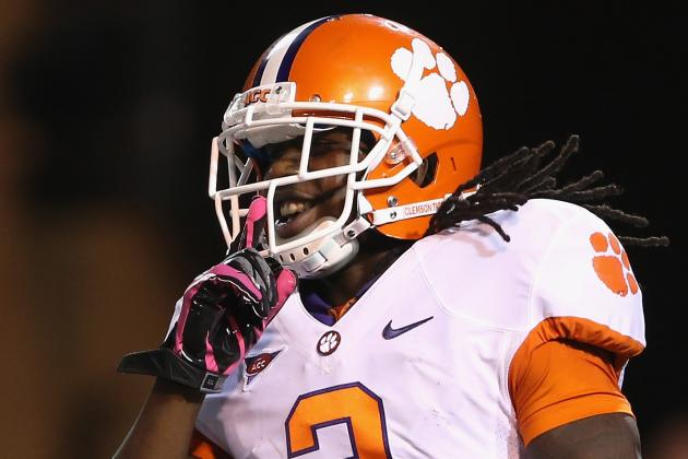 Clemson's Sammy Watkins out with Leg Injury, Expects to Play Next Week