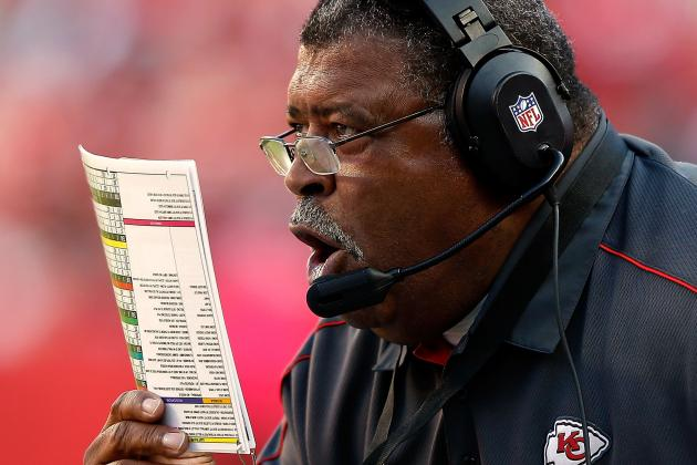 Crennel Says He Will Talk to Players About Costly Excessive Celebrations
