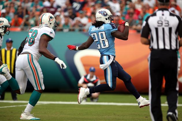 Buying or Selling Chris Johnson as a Tennessee Titan in 2013