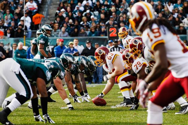 Eagles vs. Redskins: TV Schedule, Live Stream, Spread Info, Game Time and More