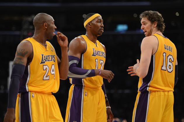 Should L.A. Lakers Bring One of Their Four Star Players off the Bench?