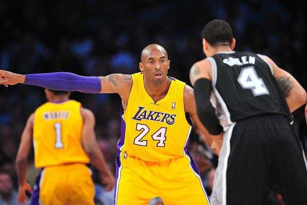 Spurs Beat Lakers 84-82