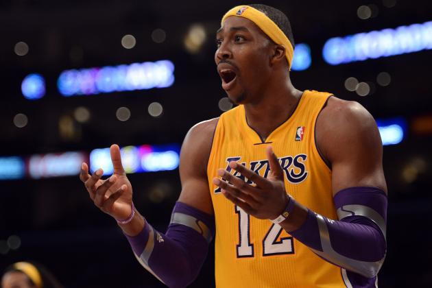 Video: Dwight Howard Nails a Big 2-Handed Jam off Kobe