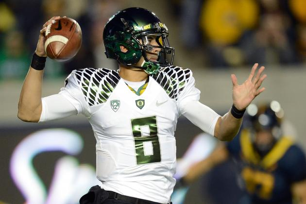 Oregon Ducks Football: 'Johnny Football' Manziel or Marcus Mariota?