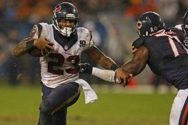 Fantasy Football Week 11 2012 Rankings: Top 40 Running Backs