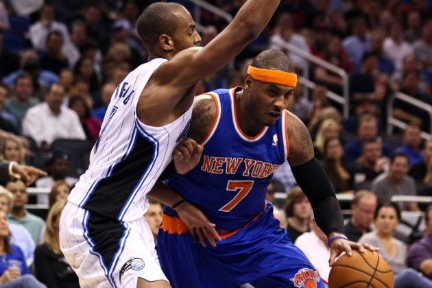 Carmelo Anthony Wins NBA Player of the Night as NY Knicks Stay Perfect vs. Magic