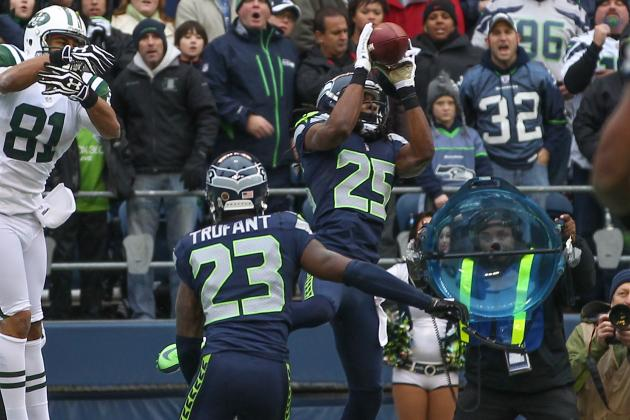 Seahawks Cornerback Richard Sherman Continues to Grow by Leaps and Bounds