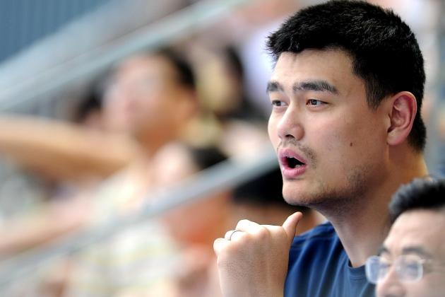 Houston Rockets Will Retire Yao Ming's Jersey