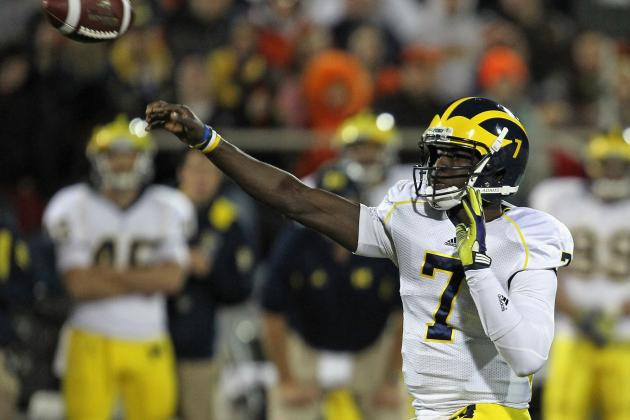 Gardner Is Michigan's Quarterback of the Future