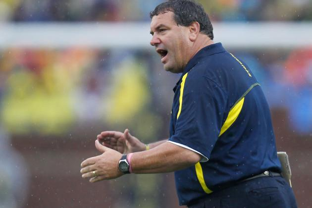 Michigan Football: Projecting Wolverines' Outlook for Remainder of 2012