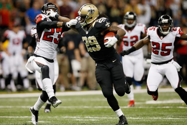 Falcons Game Film Analysis: Checking In on Saints' Running Game & Secondary Play