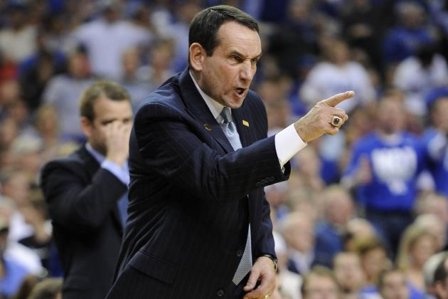 Coach Cal and Coach K Don't See Eye to Eye on Duke's Flopping