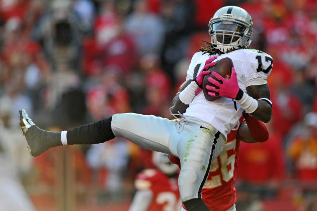 Denarius Moore vs. Darrius Heyward-Bey: Who Is the Better Option for Week 11?