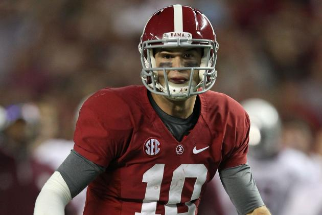 Alabama QB AJ McCarron One of 15 Finalists for Walter Camp Award