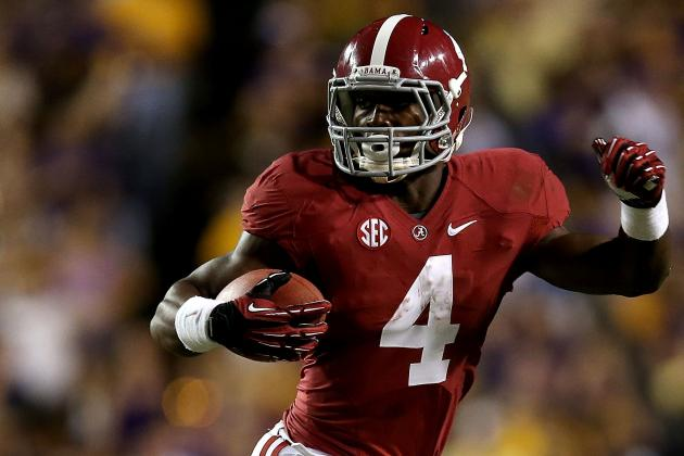 Yeldon Has His Teammates' Support After Back-to-Back Weeks with Fumbles