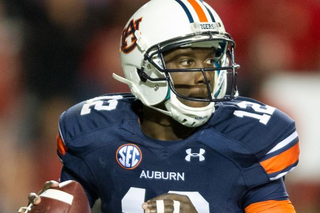 Auburn QB Jonathan Wallace Learning on the Go