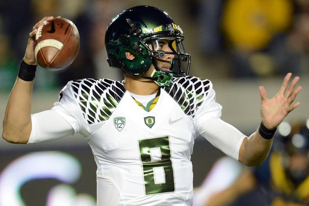 Here's What Makes Oregon Ducks' Marcus Mariota the Best QB in College Football